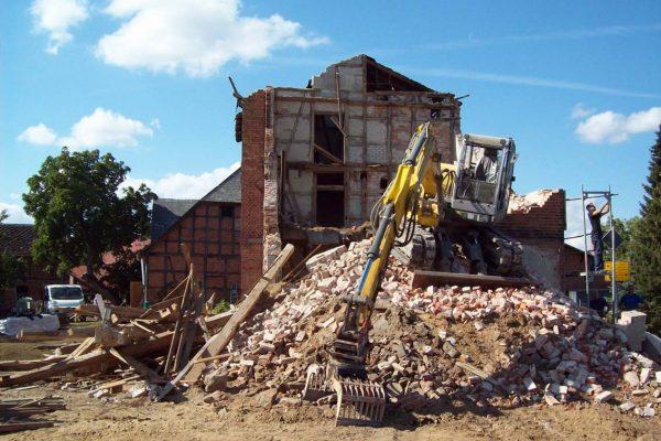 Abbruch und Entsorgung Mühle