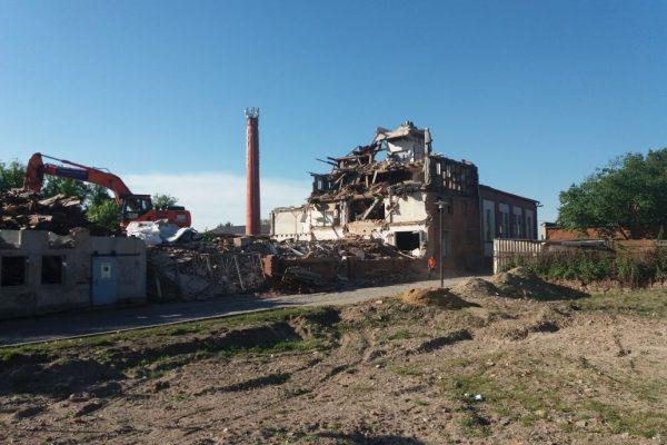 Abbruch Mühle Seehausen