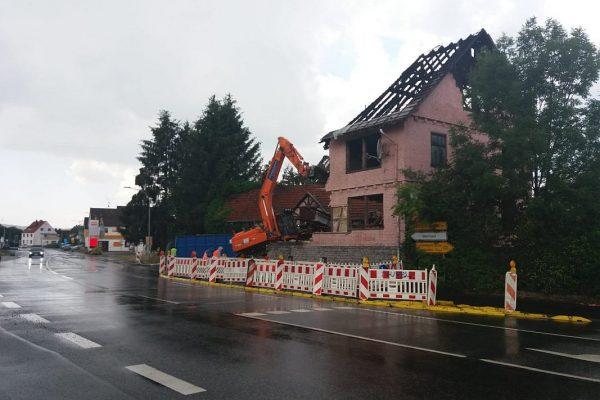 Abriss Haus Grebenhain