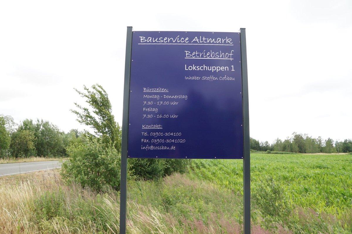 Bauservice Altmnark Cossbau Sonstiges