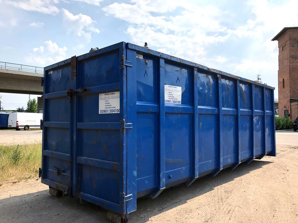 Containerdienst Cossbau (2)