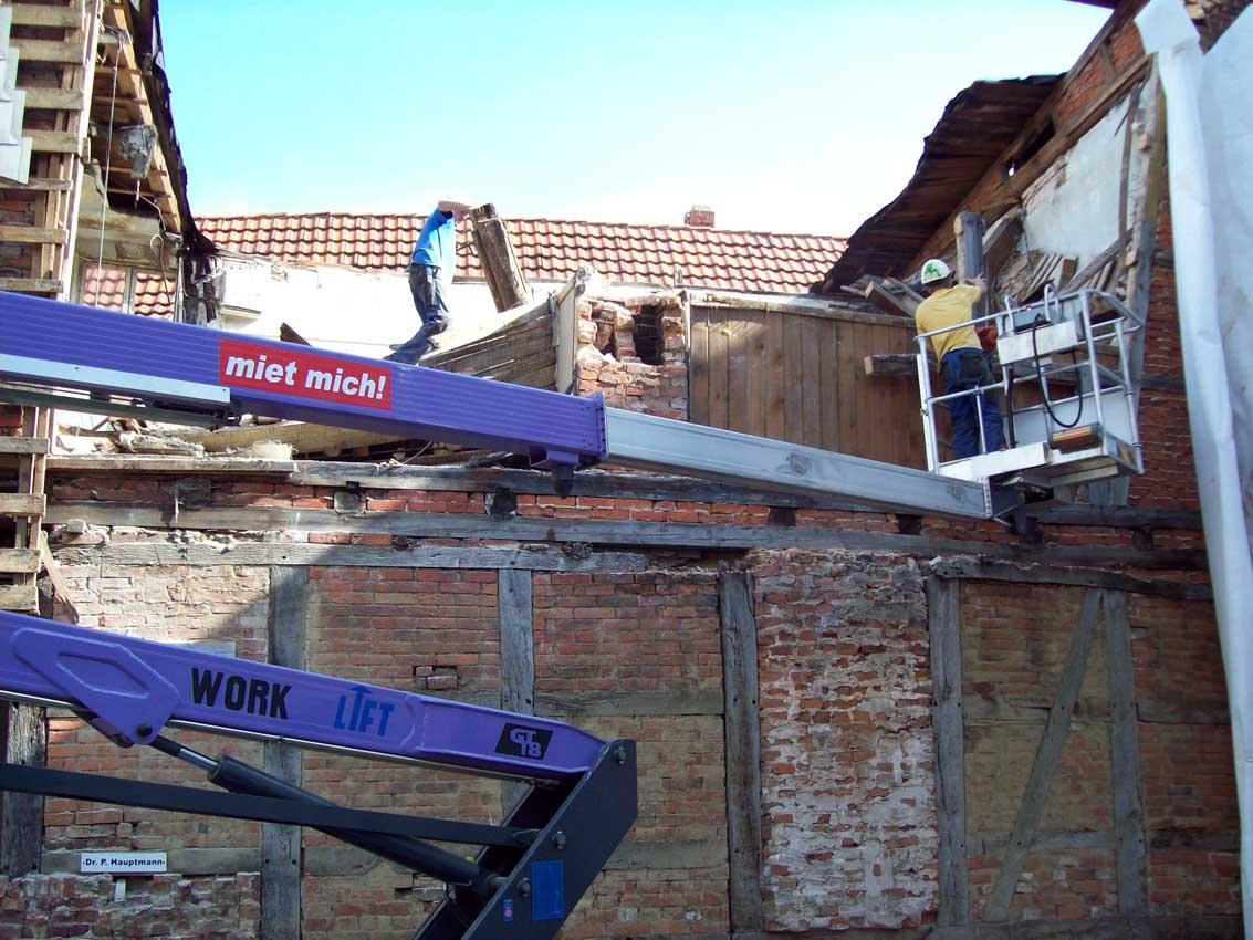 Notsicherung Gebäude Altstadtgebiet Salzwedel