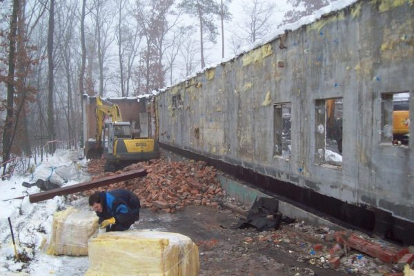 Rückbau Separierung und Entsorgung Netto