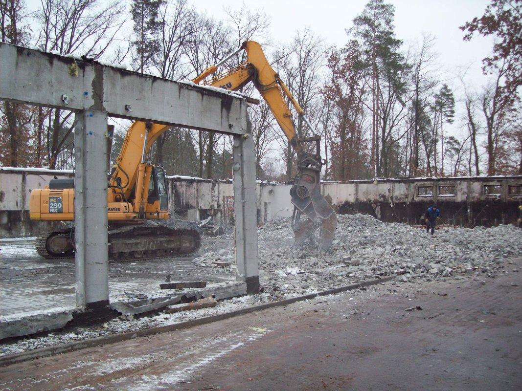 Rückbau Separierung und Entsorgung Netto (5)