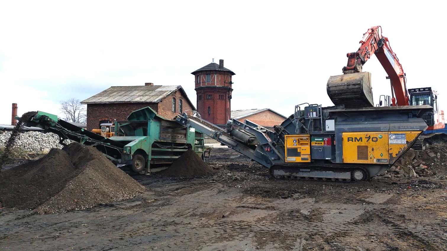 Sieben und Brechen Bauservice Altmark