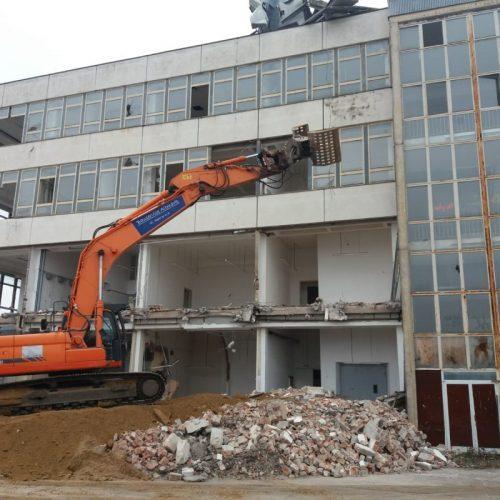 Klötze, Hagenstraße - Rückbau eines Gebäudes