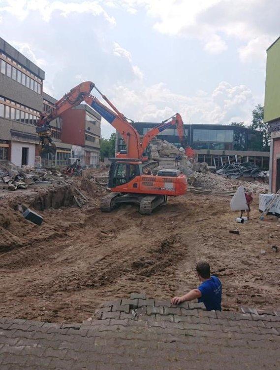 Teilabriss Niklas-Born Schule in Dannenberg 01