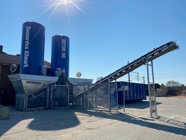 Beton2Go, Bauservice Altmark, Salzwedel, Lokschuppen 1